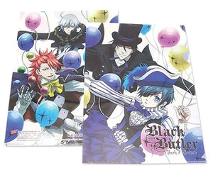 Black Butler Book of Circus Balloon File Folder