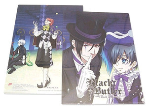 Black Butler Book of Circus Group File Folder