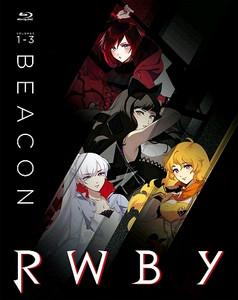 RWBY Vol. 1-3: Beacon Steelbook Blu-ray