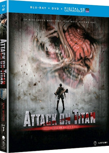 Attack on Titan The Movie Part 1 (Blu-ray/DVD)