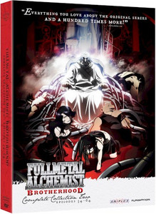 Fullmetal Alchemist Brotherhood - Collection 2 DVD