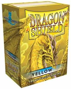 Dragon Shield Protective Sleeves 100 - Yellow