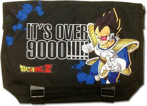 Dragon Ball Z Messenger Bag - Vegeta It's Over 9000!!!