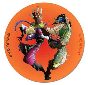 JoJo's Bizarre Adventure Button Pin - Jonathan & Dio