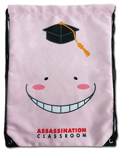 Assassination Classroom Drawstring Bag - Koro Sensei Relax