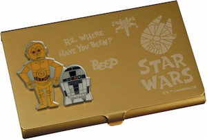 Star Wars Business Card Holder - R2D2 & C-3PO