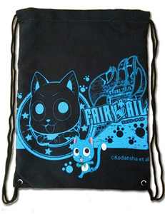 Fairy Tail Drawstring Bag - Happy