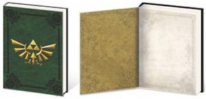 Legend of Zelda Premium Journal - Metal Crest of Hyrule