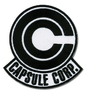 Dragon Ball Z Patch - Capsule Corp.