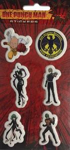 One-Punch Man Sticker Set - Groupl (Puffy)