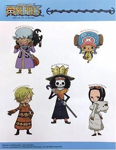 One Piece Sticker Sheet - SD Group #2
