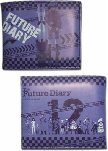 Future Diary Wallet - Diary Holders (Bi-Fold)