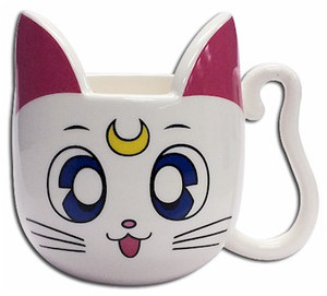 Sailor Moon Mug - Artemis Head