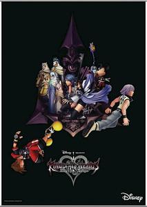 Kingdom Hearts 2.8 Wallscroll - Key Art