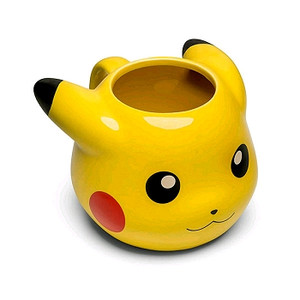 Pokemon Molded Mug - Pikachu Head