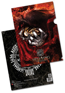 Hellsing File Folder - Alucard
