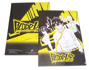 Blood Lad File Folder - Black & Yellow