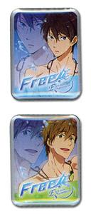 Free! 2 Pin Set - Haruka & Makoto