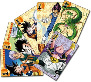 Dragon Ball Z Playing Cards #2