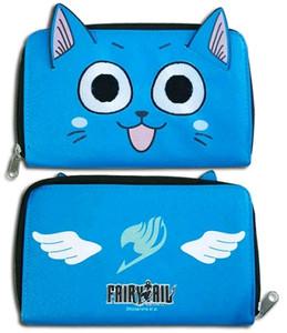 Fairy Tail Wallet - Happy (Zip Rournd Wallet)
