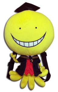 Assassination Classroom Plush Backpack - Koro Sensei