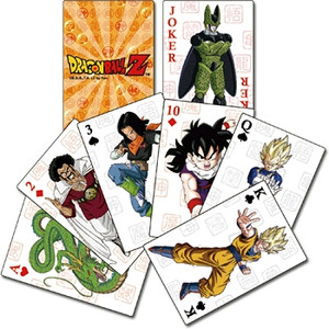 Dragon Ball Z Playing Cards #3