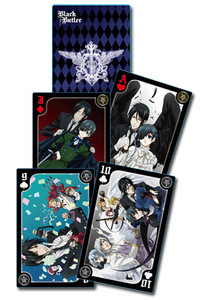Black Butler Playing Cards #51593