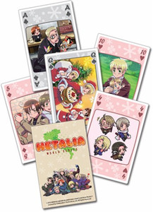 Hetalia World Series Playing Cards Style #2057