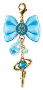 Sailor Moon Crystal Ribbon Charm - Sailor Mercury