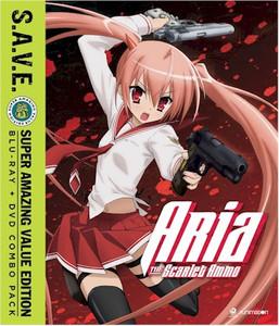 Aria The Scarlet Ammo Blu-ray/DVD (S.A.V.E.)