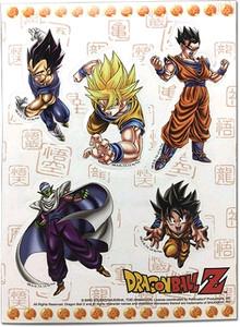 Dragon Ball Z Sticker Sheet - Special Art Group