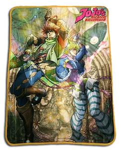 JoJo's Bizarre Adventure Throw Blanket - Jonathan & Dio