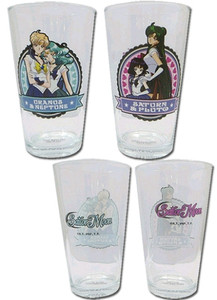 Sailor Moon Pint Glasses Set - Group #3 (2-Pack)