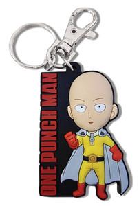 One-Punch Man PVC Keychain - SD Saitama