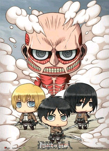 Attack on Titan Wallscroll - SD Group