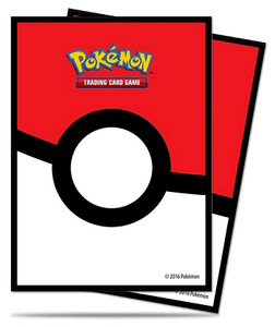 Pokemon Ultra Pro Pokeball Card Sleeves 65 Count