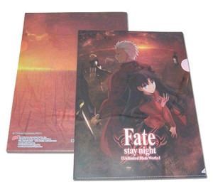 Fate Stay Night File Folder - Rin & Archer