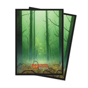 Magic the Gathering Sleeves: Mana 5 - Forest