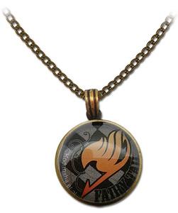 Fairy Tail Necklace - Guild Emblem Grid