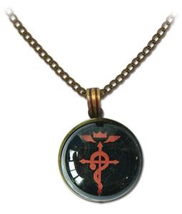 FMA Brotherhood Necklace - Serpant Cross of Flamel