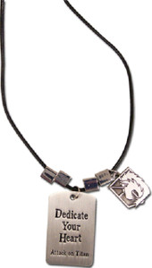 Attack on Titan Necklace - Military Polic