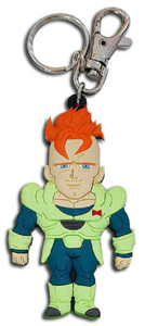 Dragon Ball Z PVC Keychain - SD Android 16