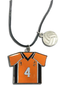 Haikyu!! Necklace - Number 4 Team Uniform