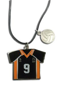 Haikyu!! Necklace - Number 9 Team Uniform