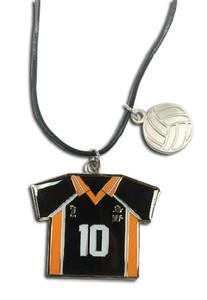 Haikyu!! Necklace - Number 10 Team Uniform