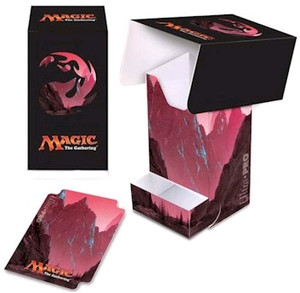 Ultra Pro MTG Mana 5 Deck Boxes with Tray - Mountain