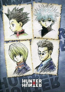 Hunter × Hunter Glue Bound Notebook