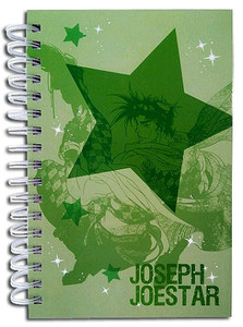 JoJo's Bizarre Adventure HC Notebook - Joseph & Caesar
