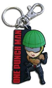 One-Punch Man PVC Keychain - SD Mumen Rider