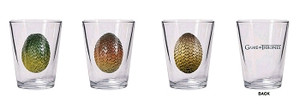 Game of Thrones Shot Glass Set - Dragon Egg